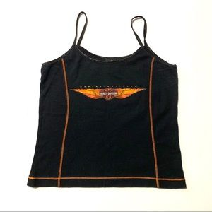 Harley Davidson New York City Cropped Tank Top MED